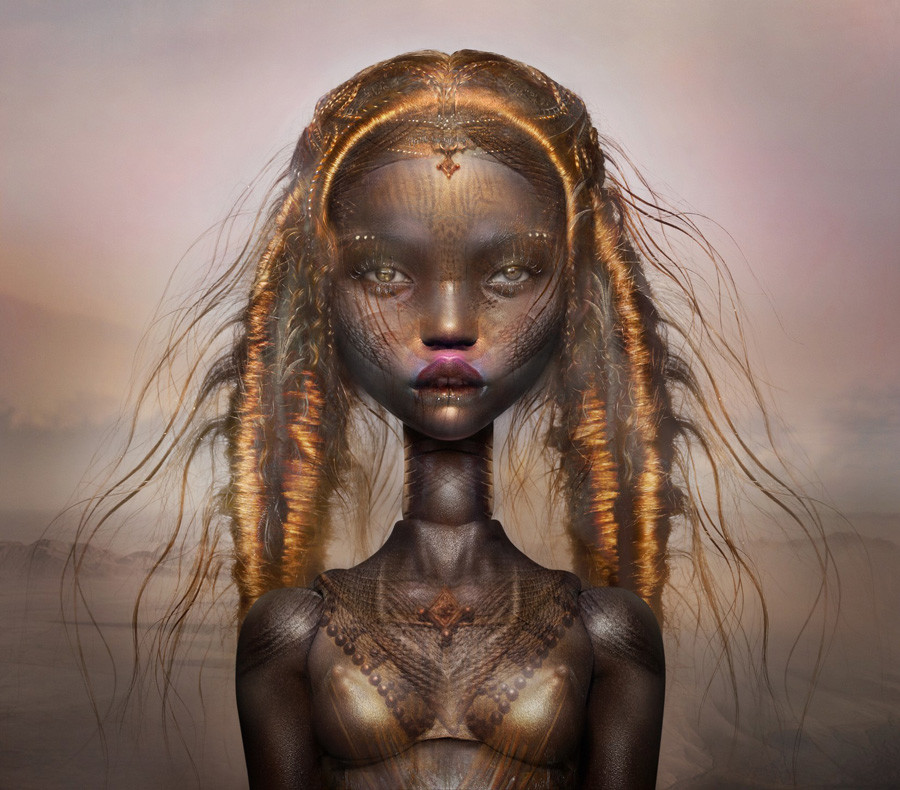 Popovy Sisters & Ingrid Baars collaboration print