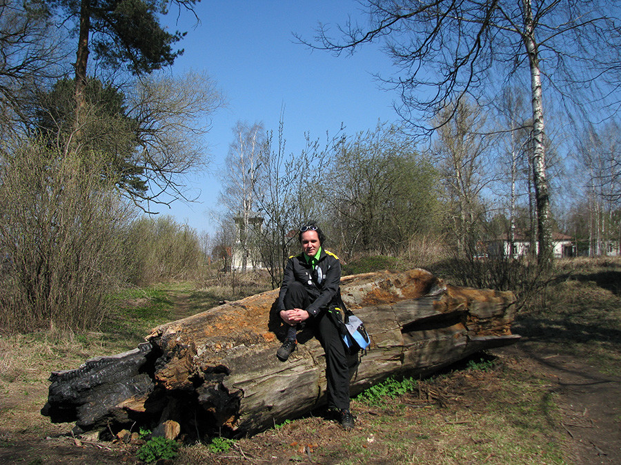 Nos arredores de Moscou, em 2009.