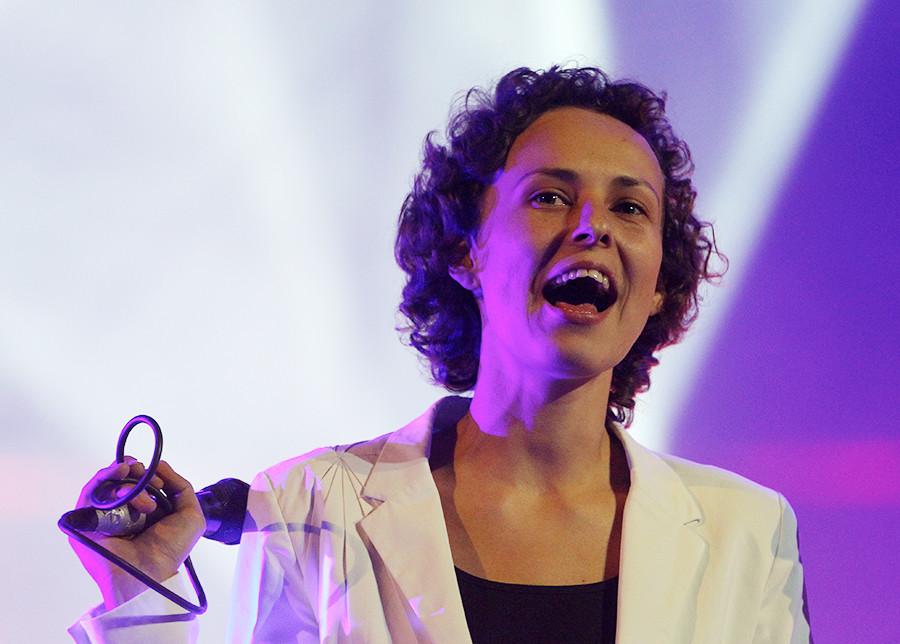 La cantante Yulia Chicherina