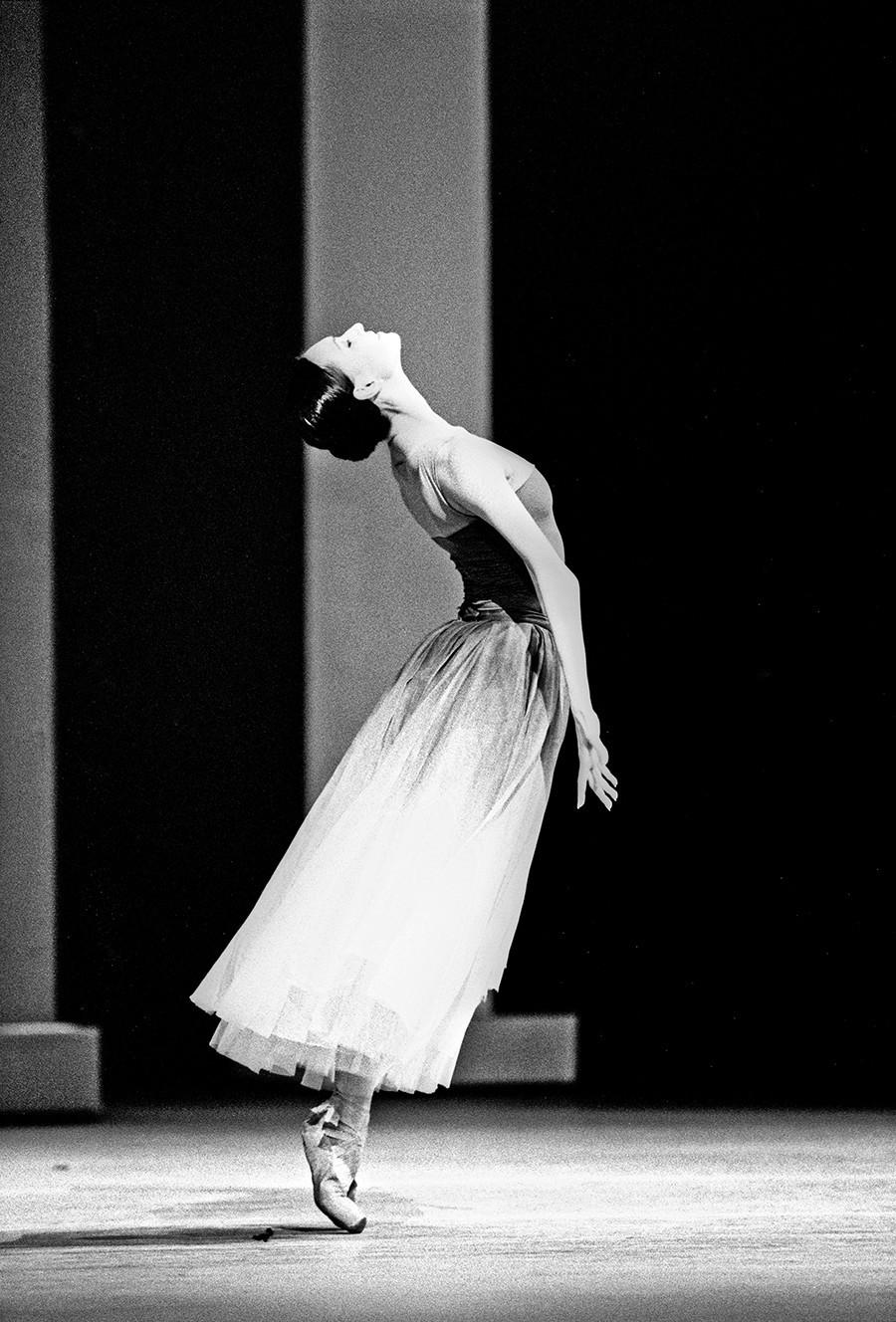 """Ољга Смирнова во балетот """"Кротењето на опаката"""". Лондон, 2016."""