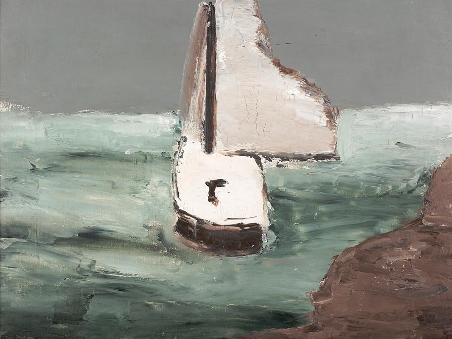 Aleksandr Drevin. Ship, 1931.