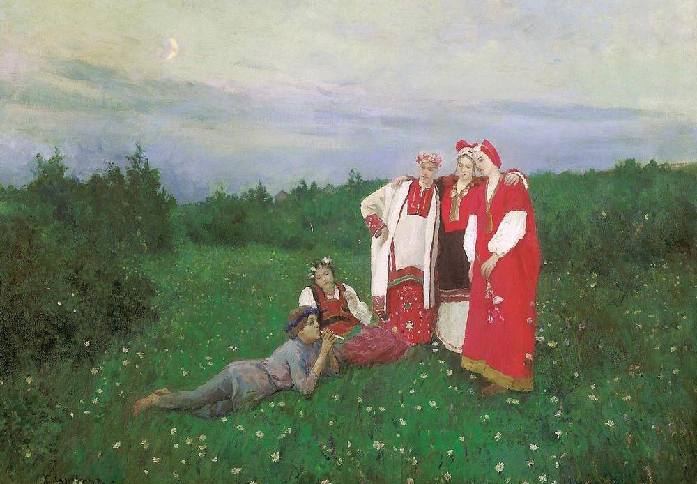 Idílio del norte, 1886.