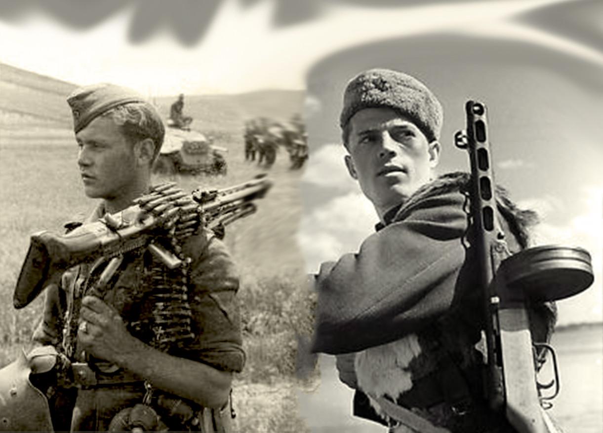 Немачки митраљезац из састава оклд