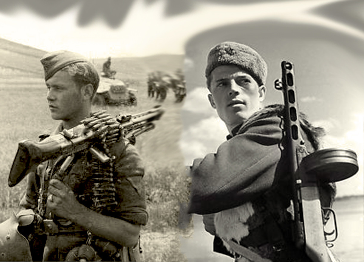Njemački mitraljezac iz sastava okld