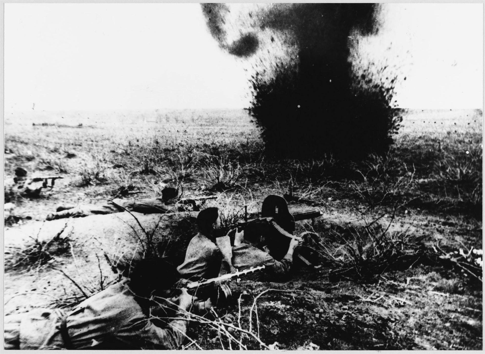 Совјетска гардијска пешадија у дејству, јул Курска битка