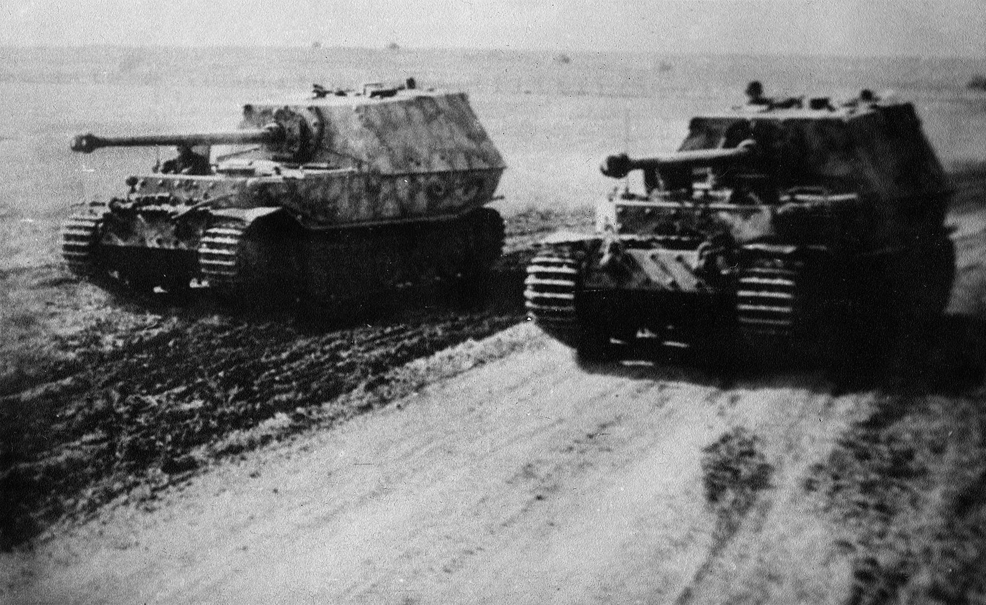 "Два тешка ловца на тенкове Sd.Kfz.184 ""Ferdinand"""