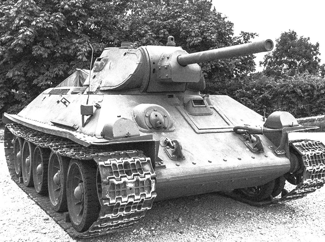 Средњи совјетски тенк 7-34-75