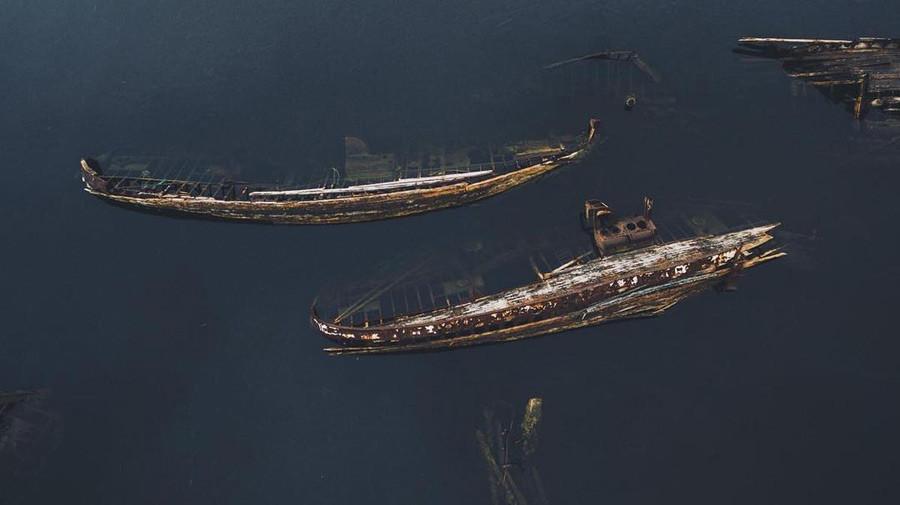 テリビョルカの難破船、ムルマンスク州