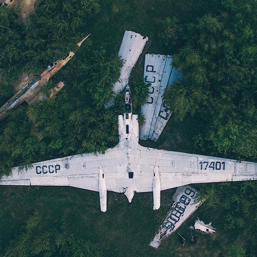 モニノの飛行機の墓場、モスクワ州