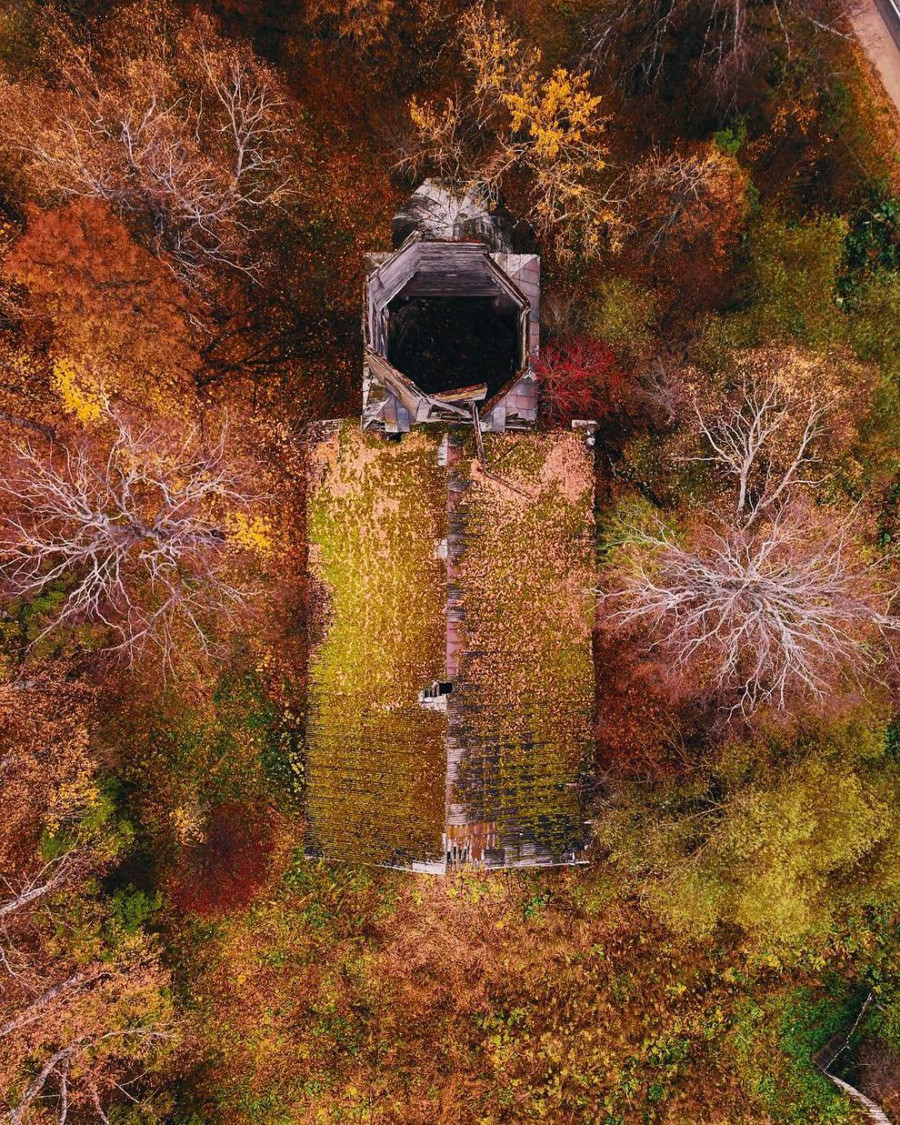 トヴェリ州の木造教会