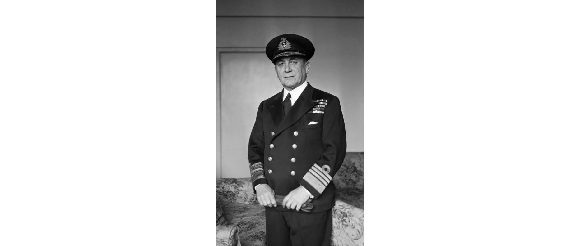 Max Horton, comandante del submarino E-9.