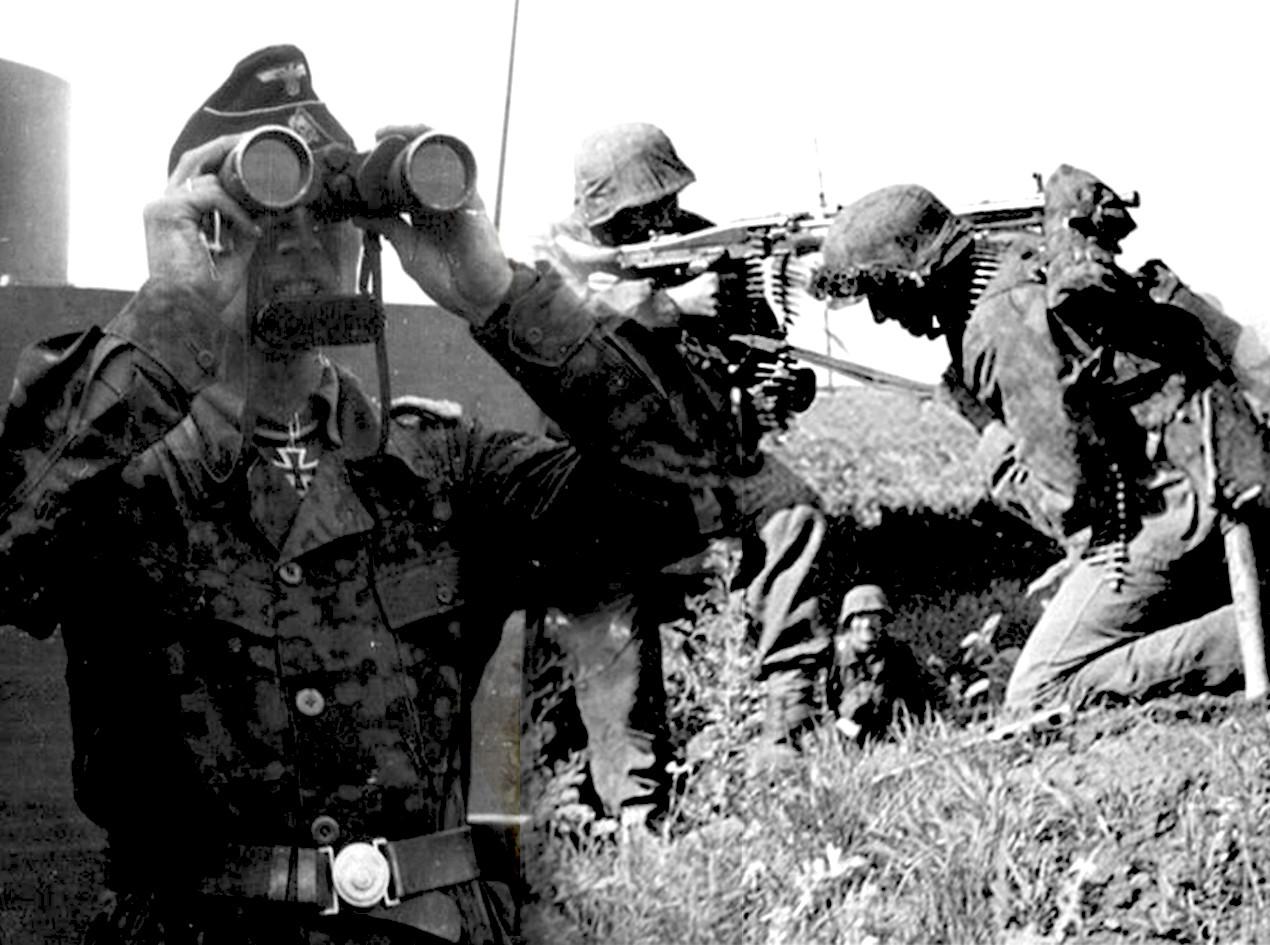 Панцер-гренадири немачке 3.СС оклд.
