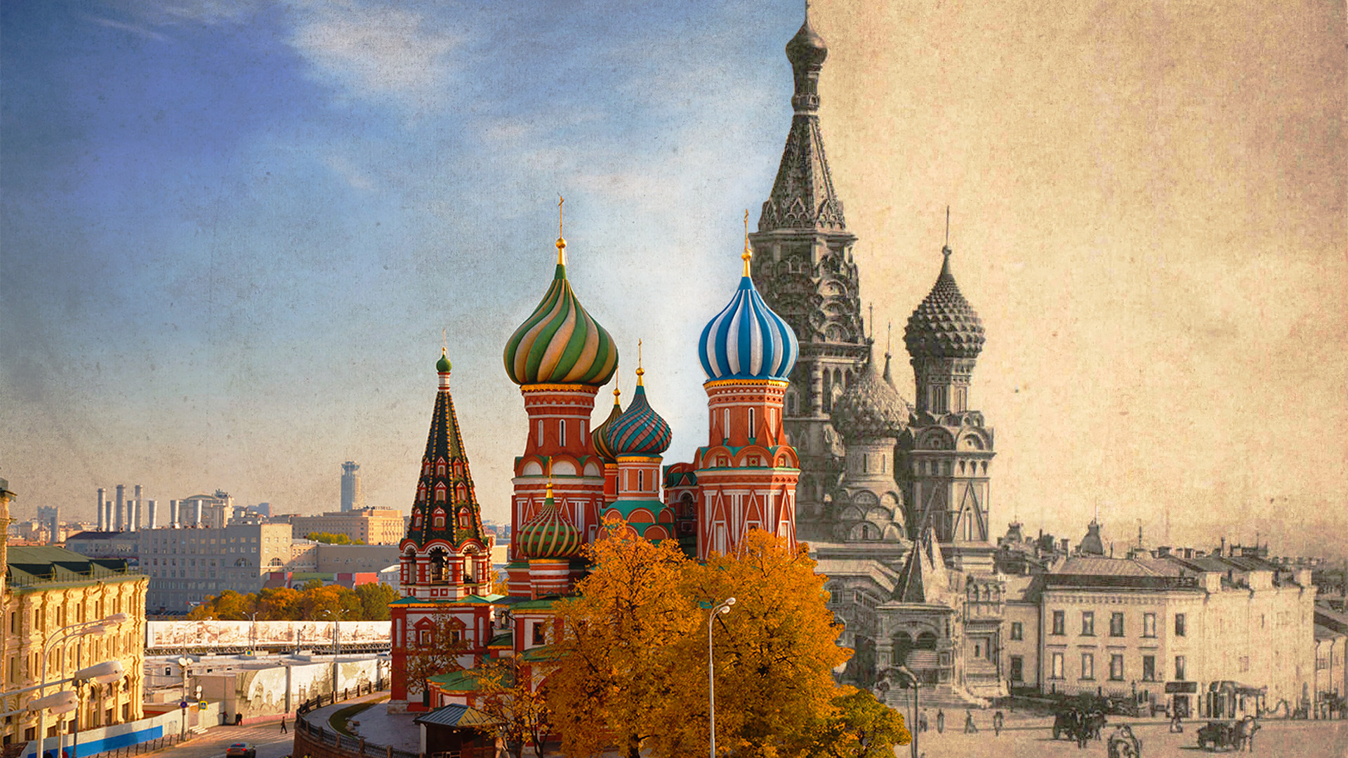 Before and after: How Moscow looked in the 19th century ...