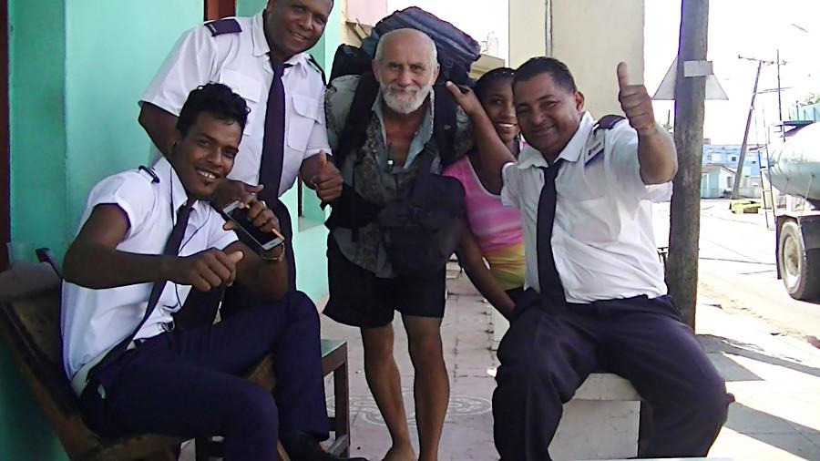На Куби.