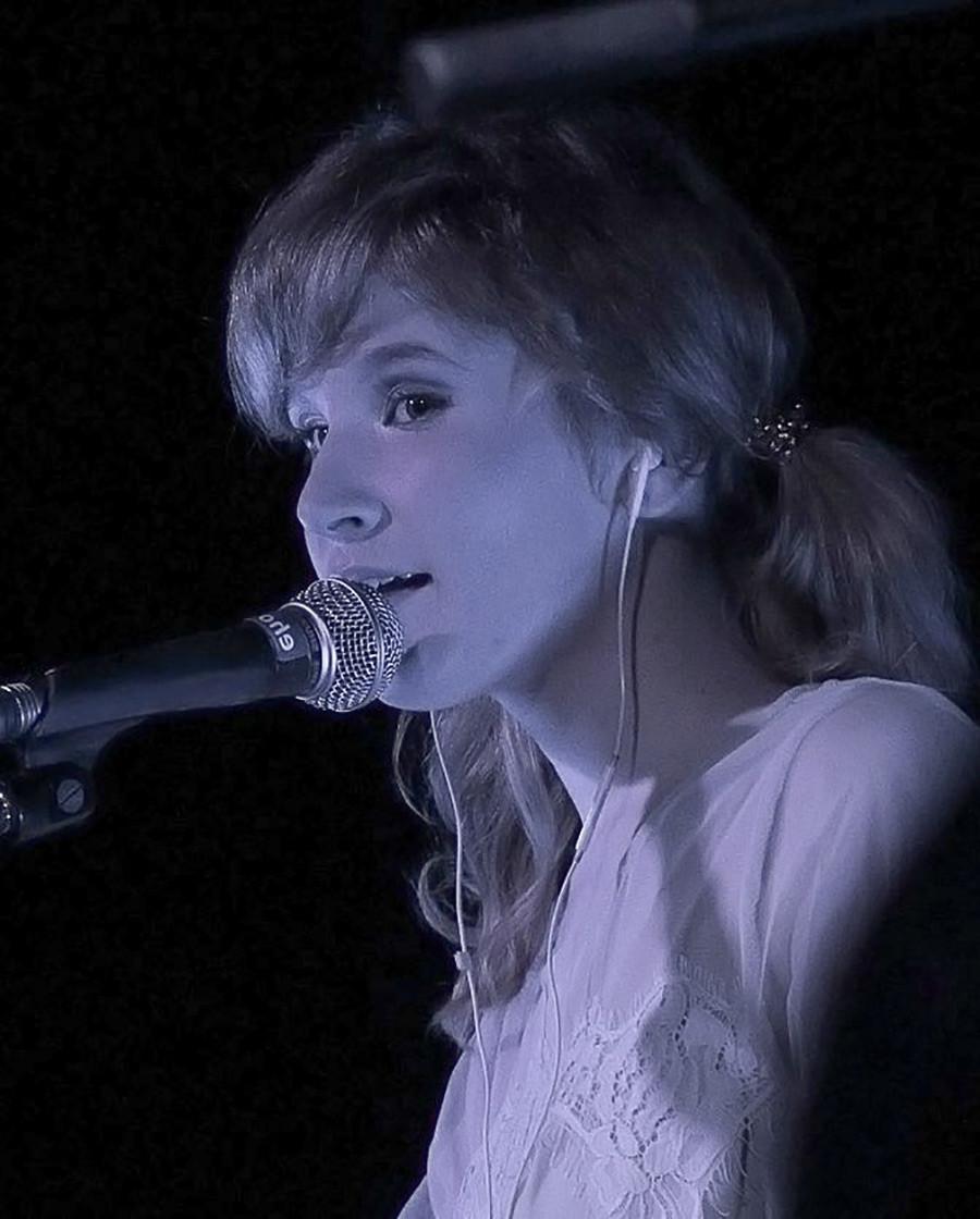 Elizaveta em foto de apresentação em 2018.