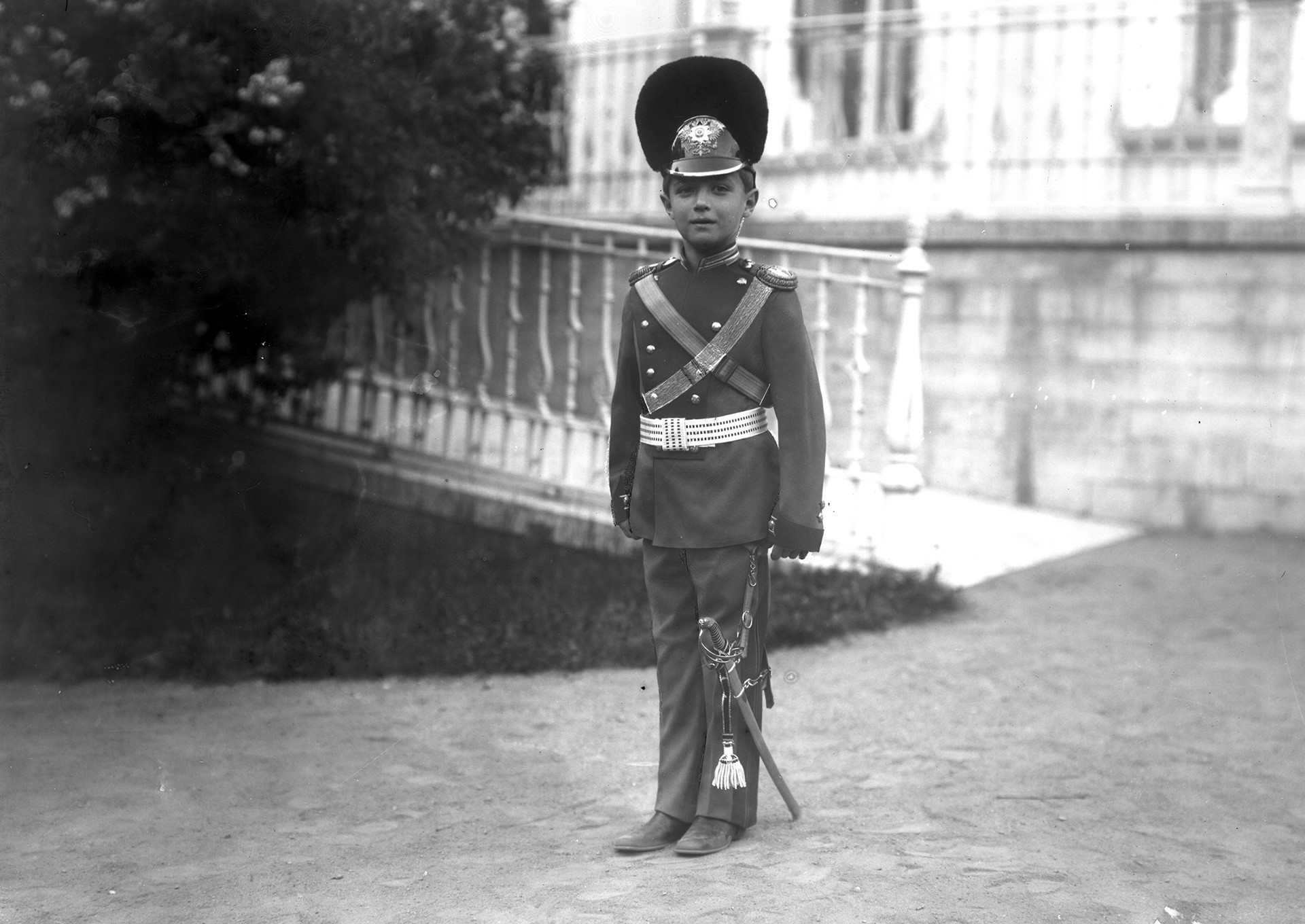 Photographies inédites de la famille impériale russe des Romanov