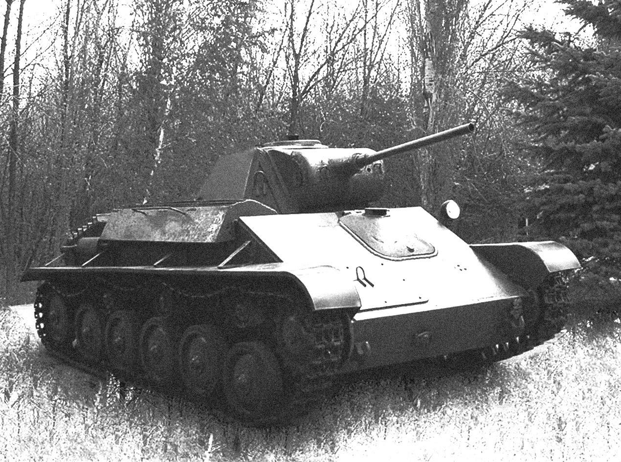 Sovjetski lahko tank T-70