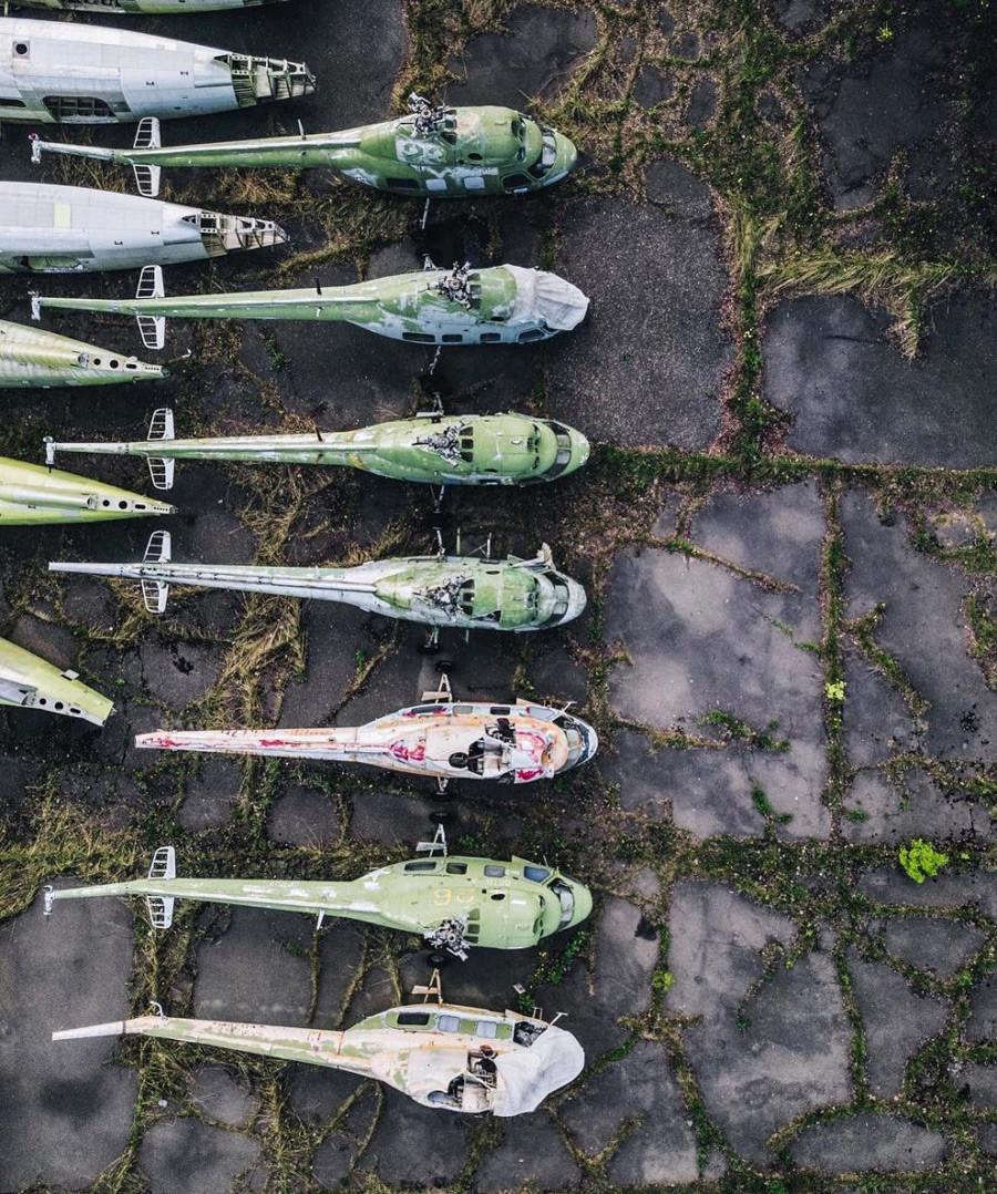 Lost Places Fotos: Lugares Abandonados De Rusia A Vista De Dron (Fotos