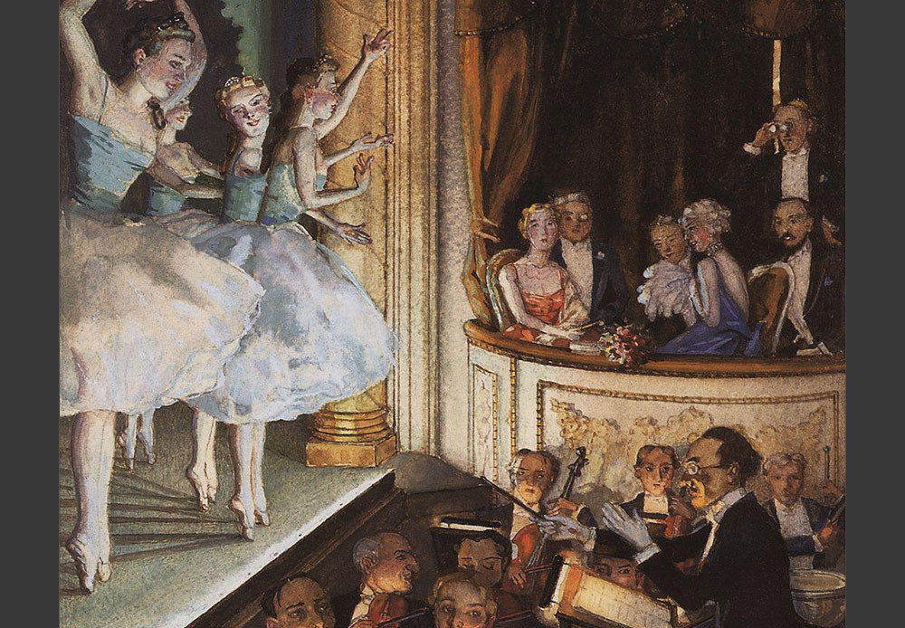 Ballet ruso, 1910.