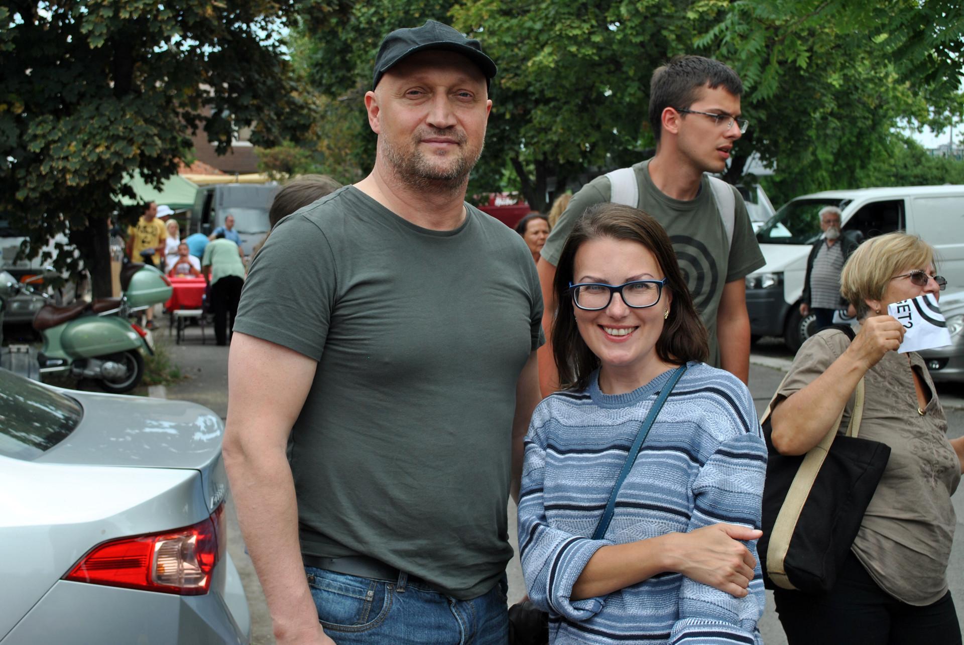 Катарина Лане и Гоша Куценко