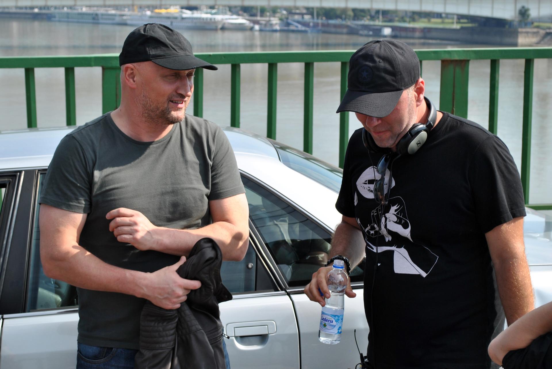 Гоша Куценко и Андреј Волгин
