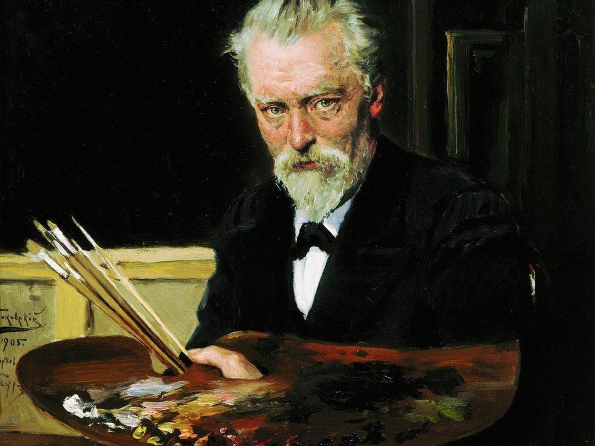 'Autorretrato', 1905.