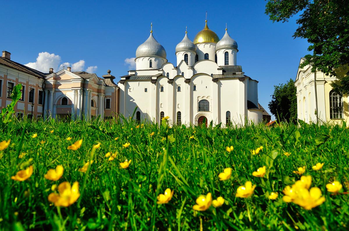 Cerkev Sv. Sofije v Novgorodu
