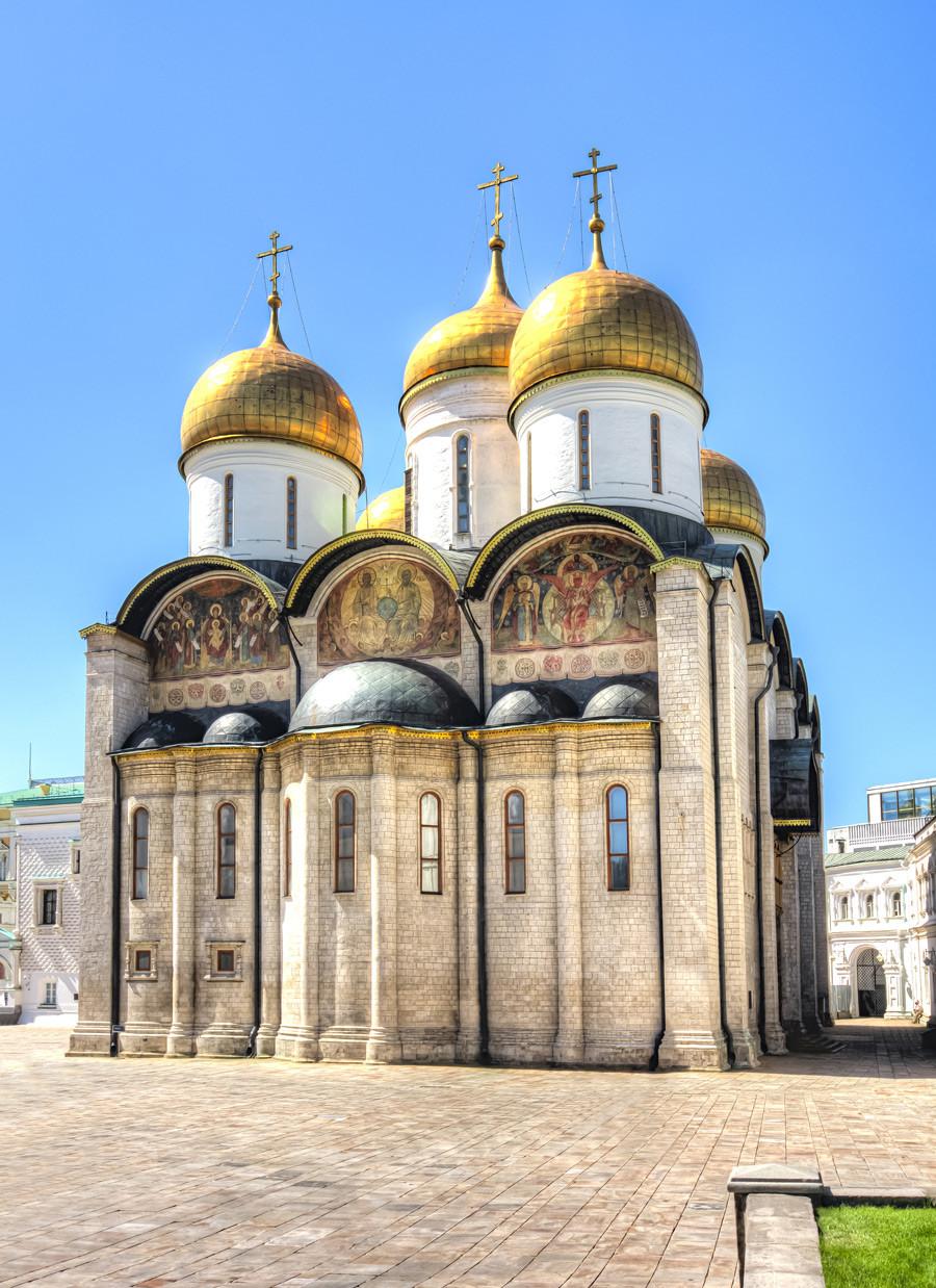 Uspenska stolnica v moskovskem Kremlju
