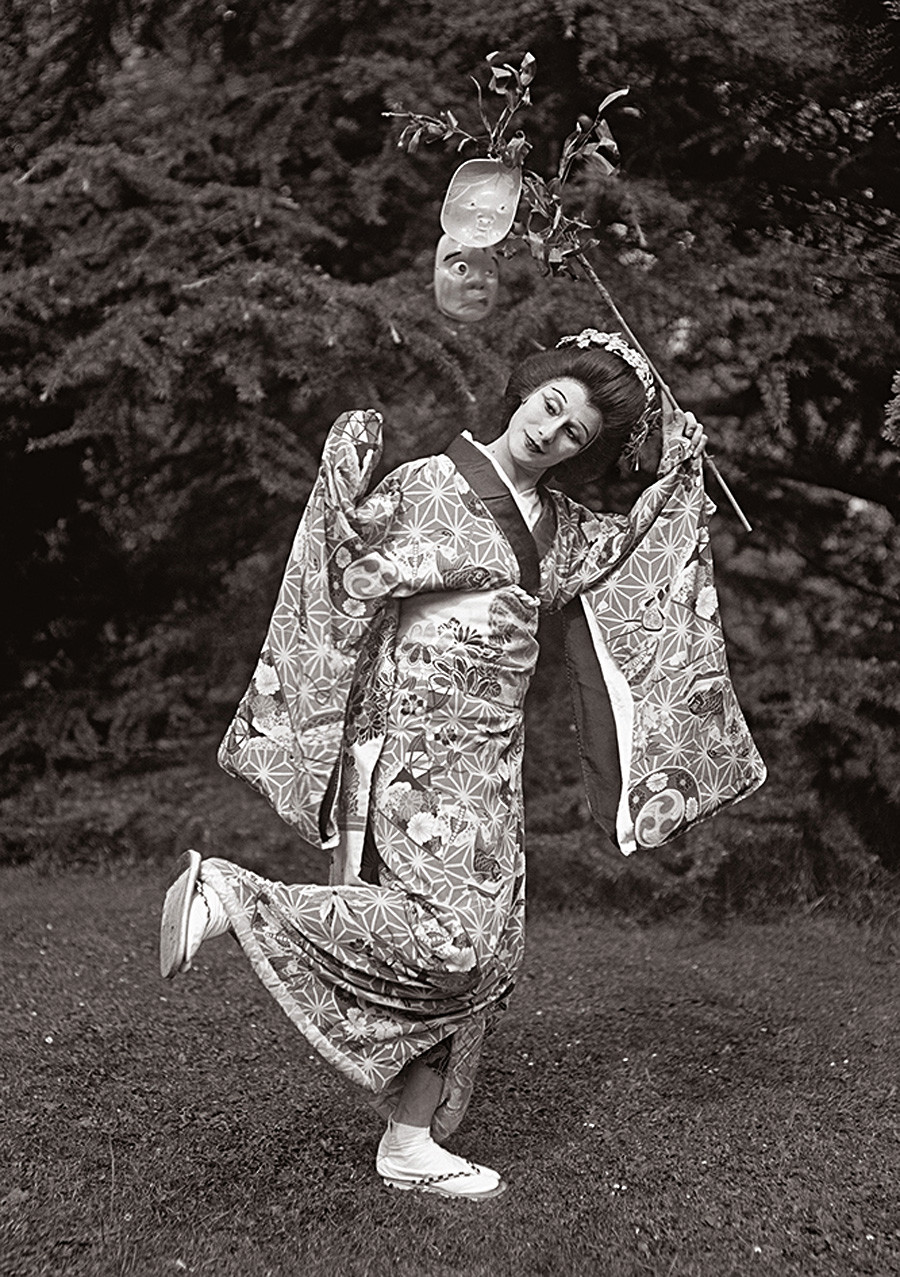 Anna Pavlova in una performance da solista, 1923