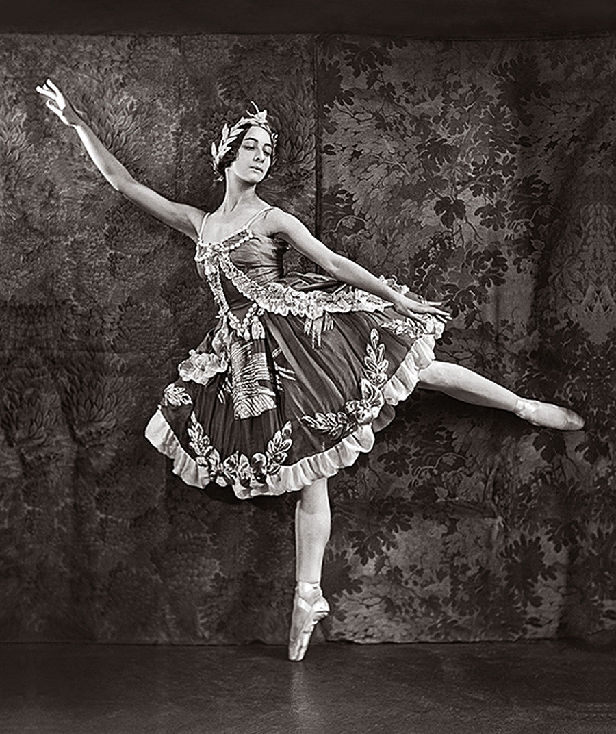 Olga Spessivtseva nel ruolo di Aurora (La bella addormentata), 1921