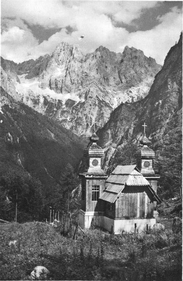 Ruska kapelica leta 1928