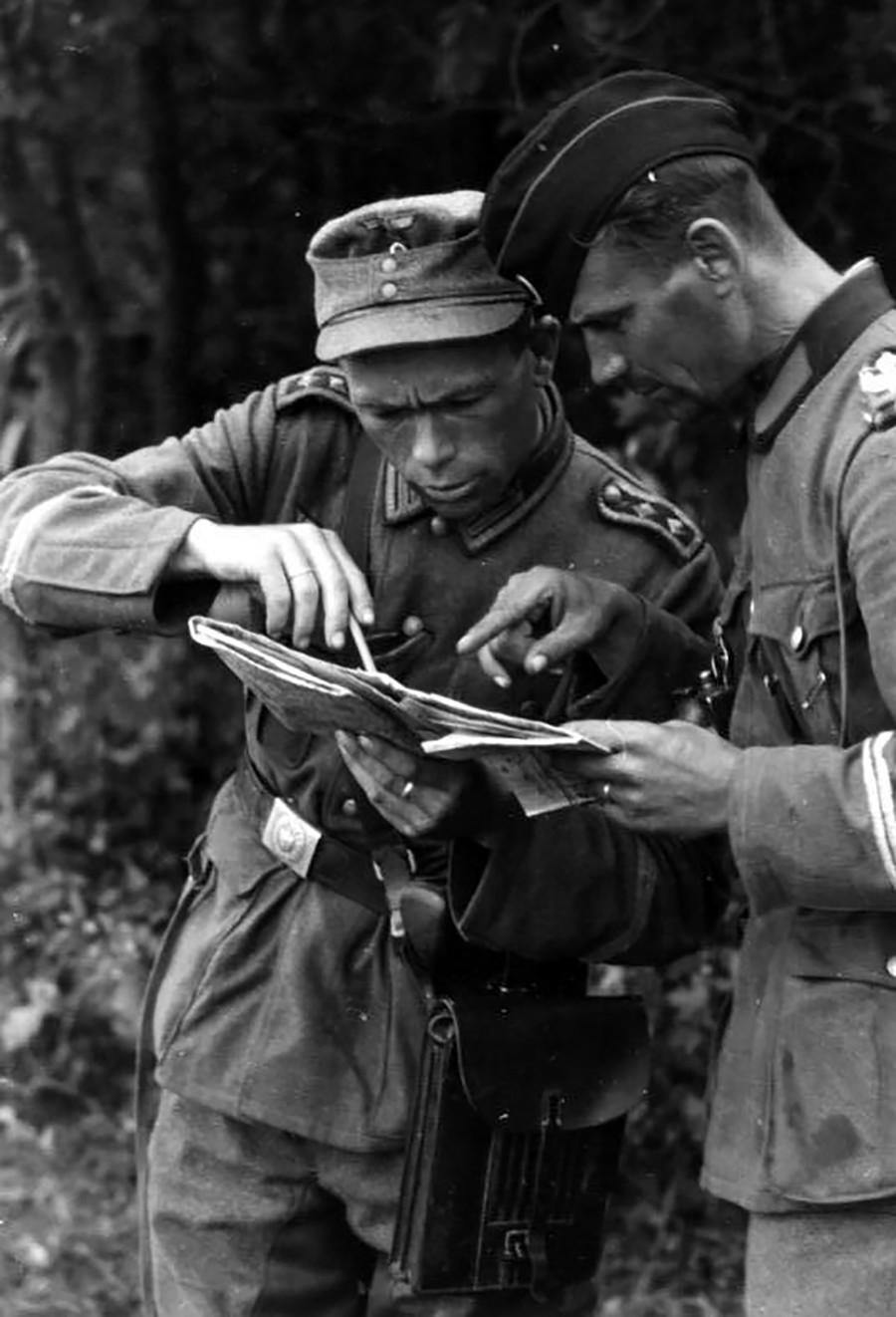 Војници на Вермахтот