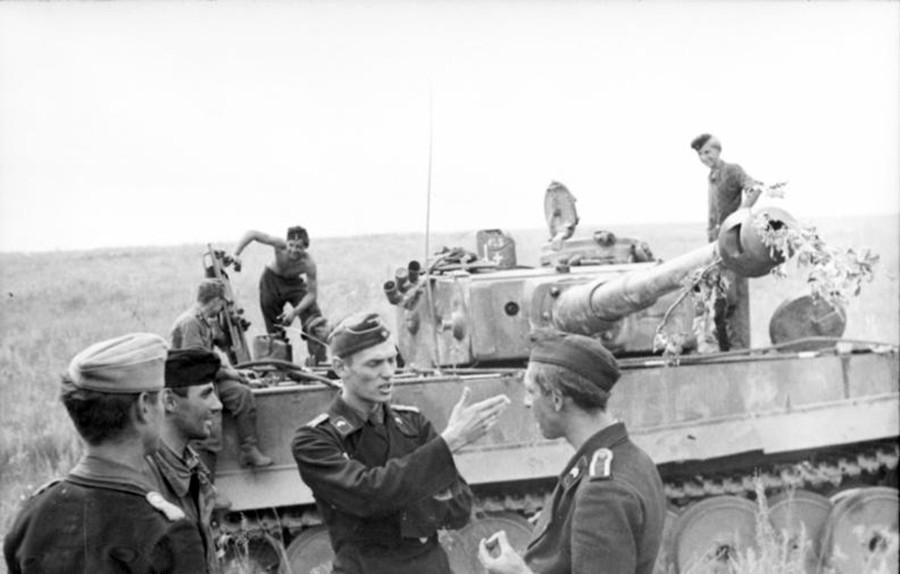 Германски тенк. Битката кај Курск.