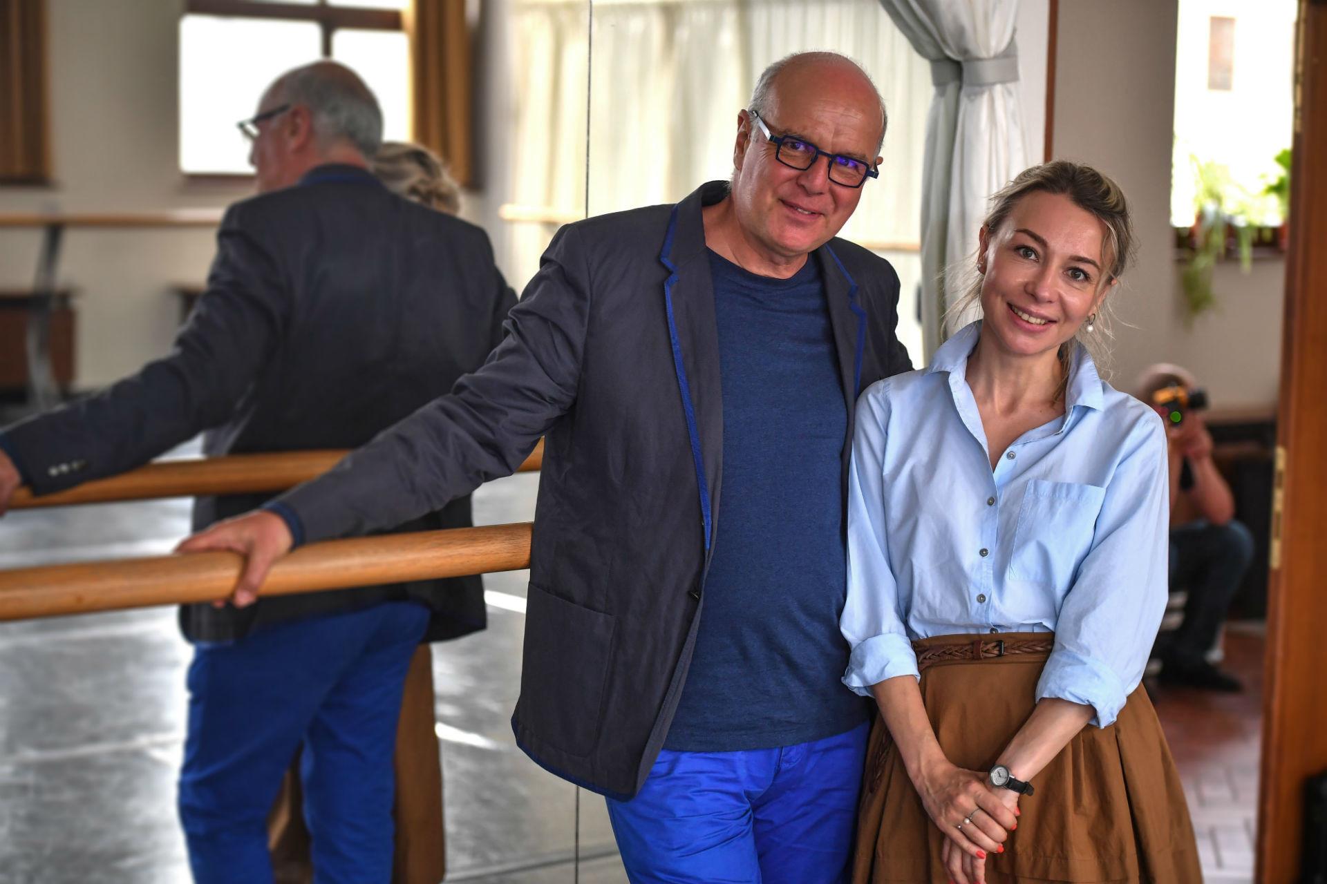 Philippe Normand et Veronika Bogatyreva