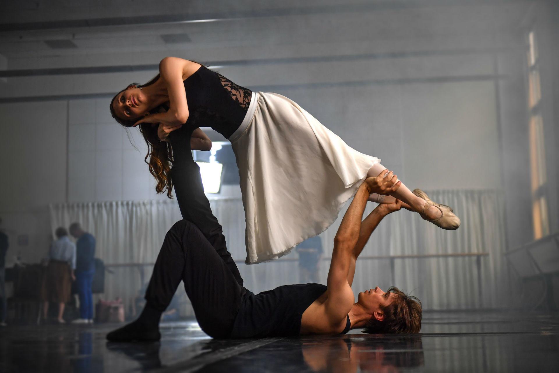 Anna Tikhomirova et Artem Ovtcharenko