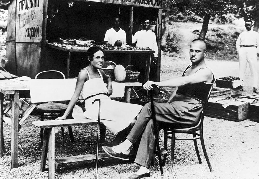 Lili Brik et Vladimir Maïakovski