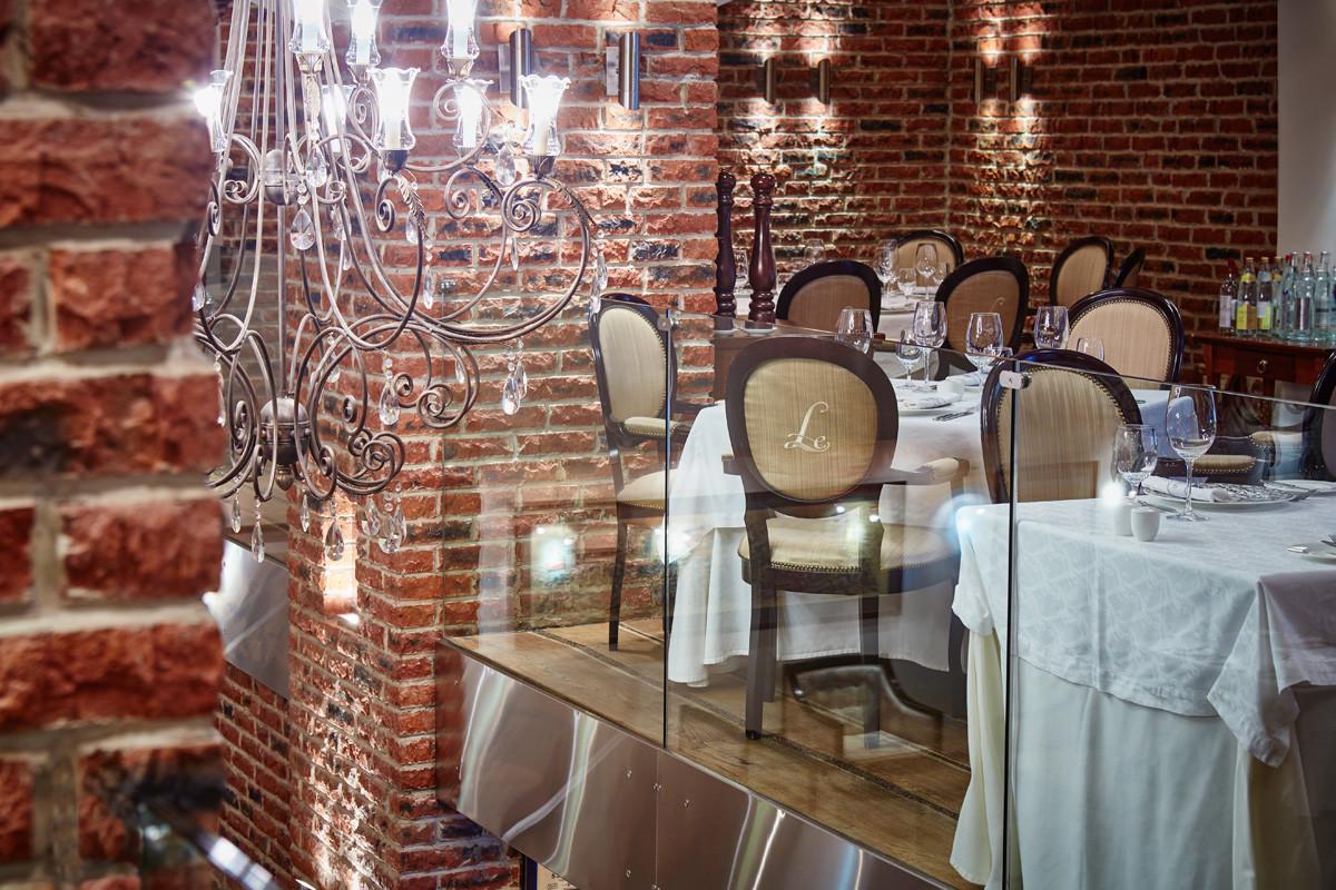 ル・レストランのインテリア