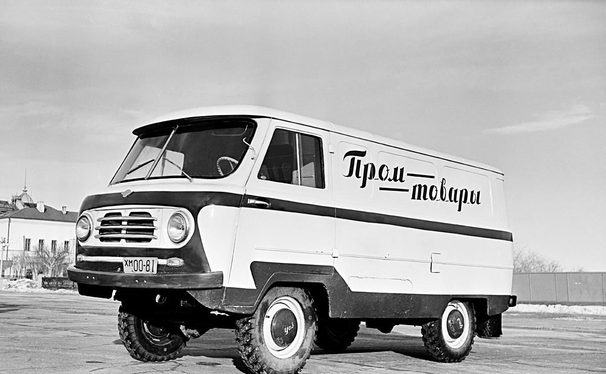 Dostavno vozilo UAZ-450, 1. marca 1958