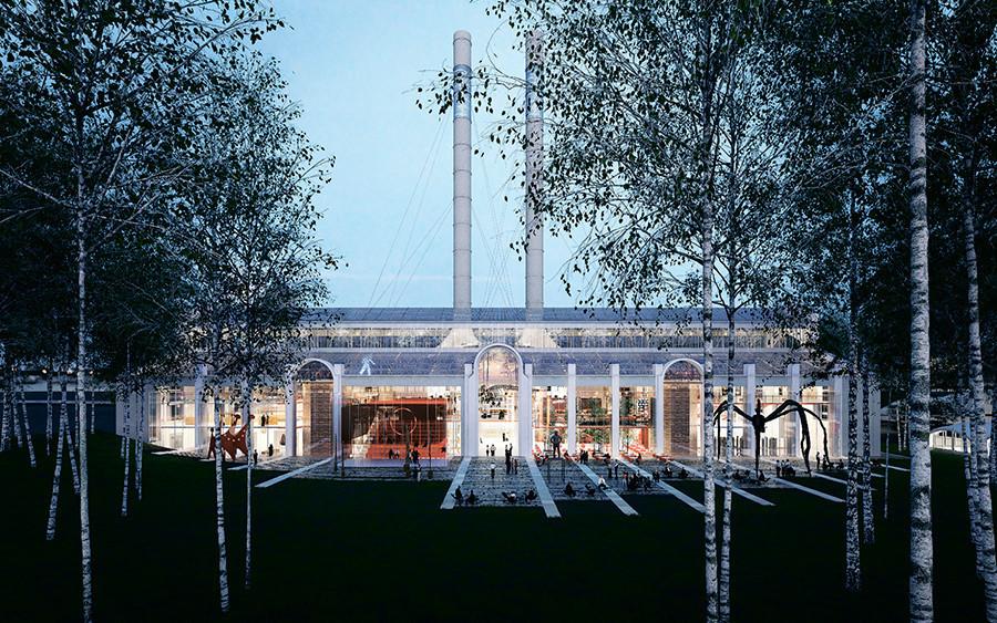 Pusat seni Yayasan V-A-C.