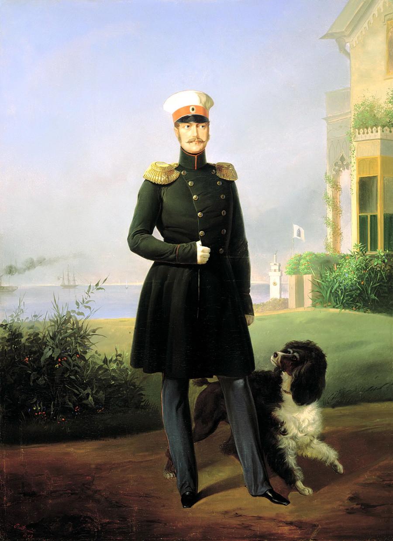 Јегор Иванович Ботман. Портрет императора Николаја I