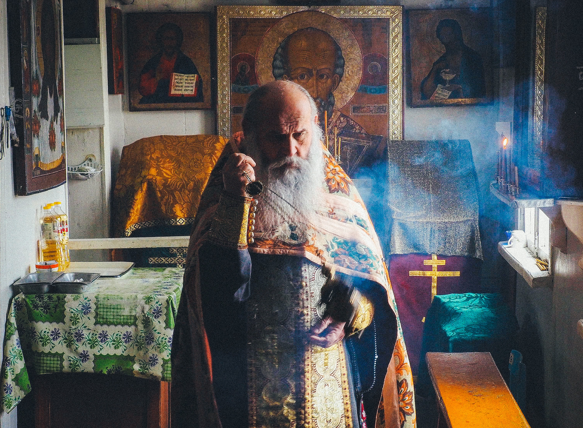 A Russian Orthodox priest