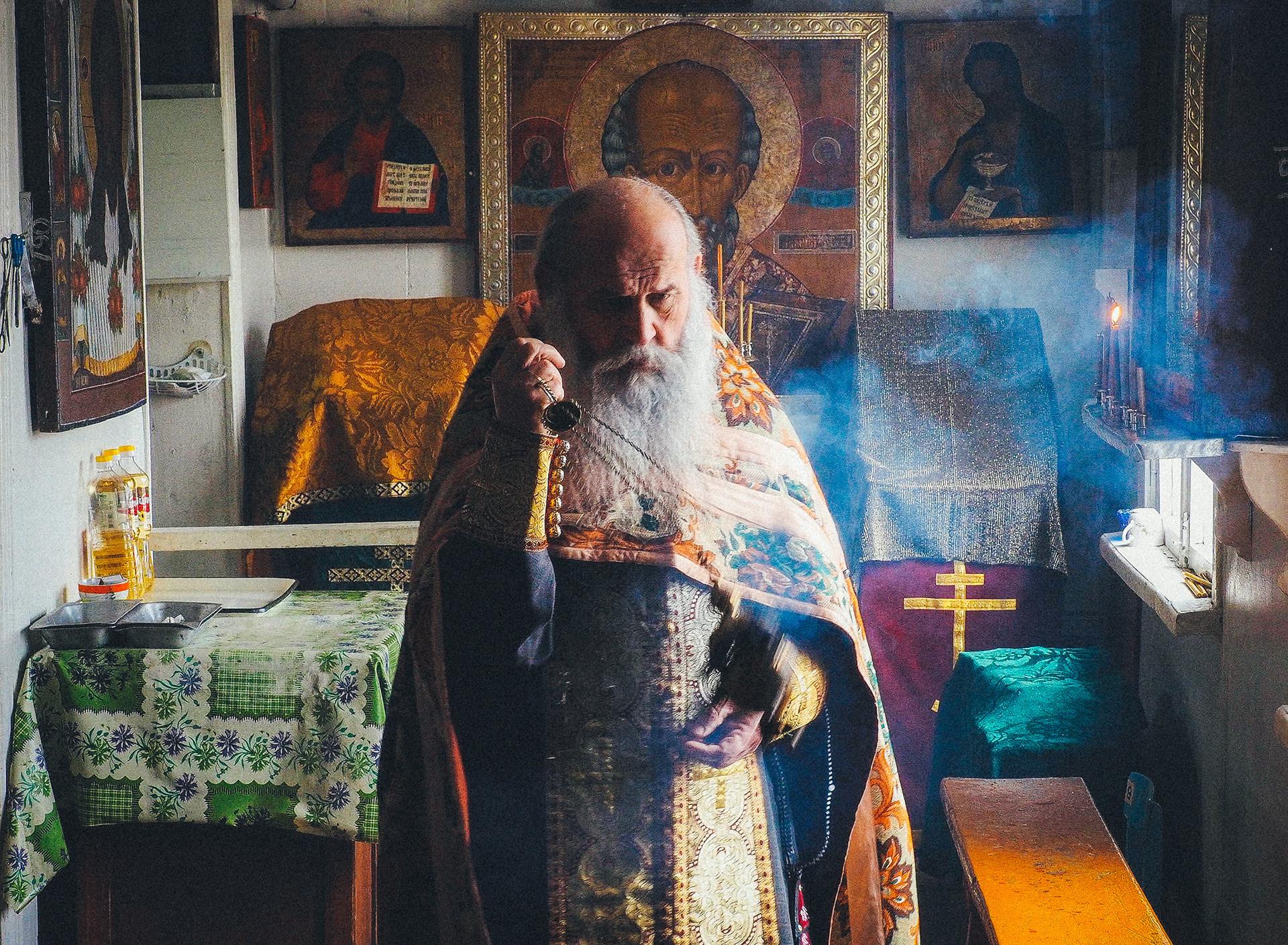 ロシア正教の神父