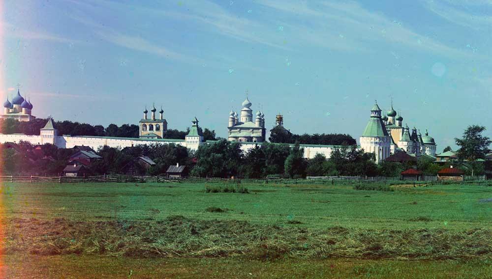 Il monastero Borisoglebskij, 1911