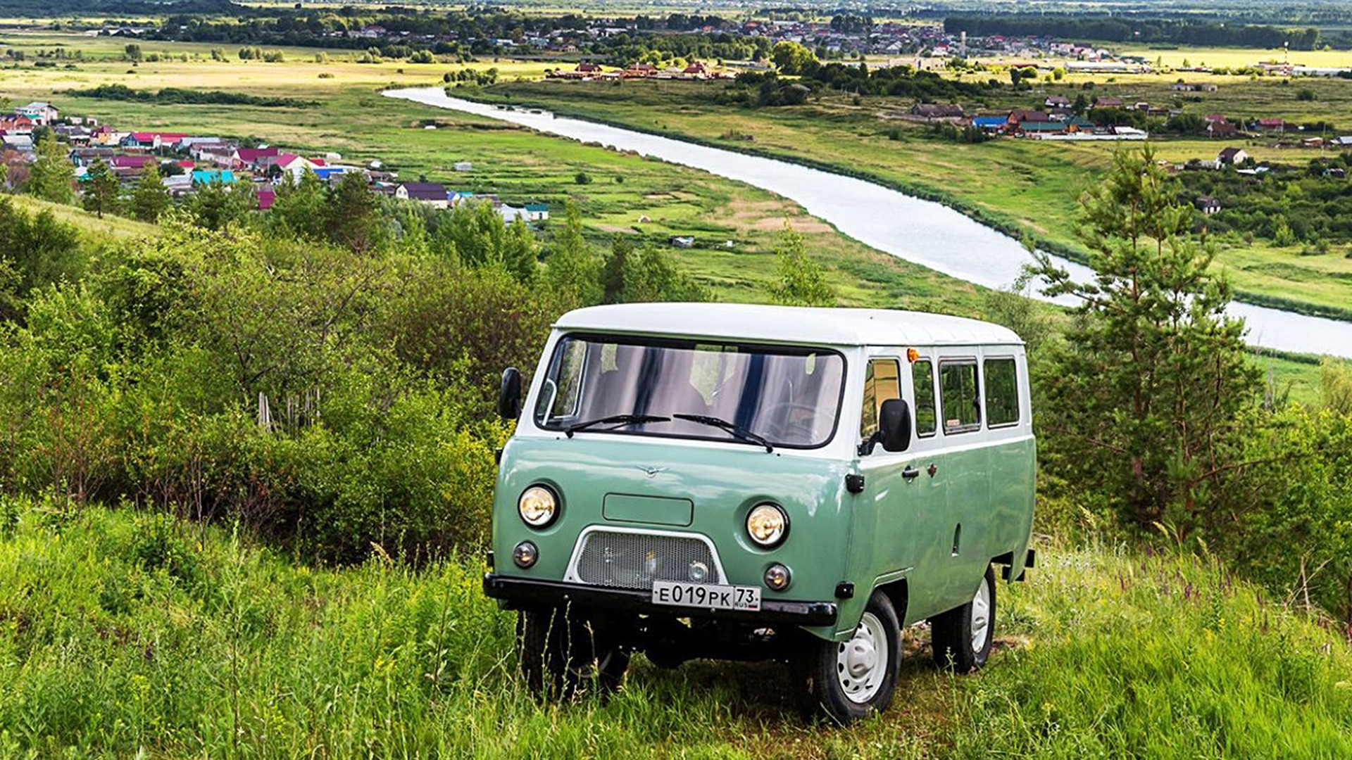 would you dare take a ride in the iconic 1960s soviet minivan called