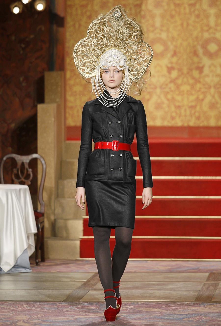 Colección de avance de otoño de 2009 de Chanel Paris-Moscú.
