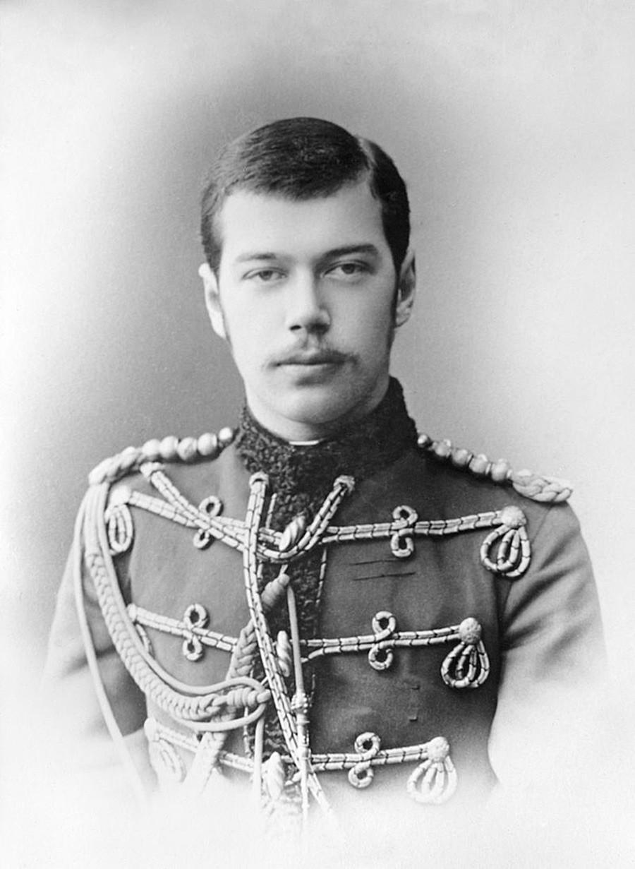 Nicolau, então herdeiro do trono russo