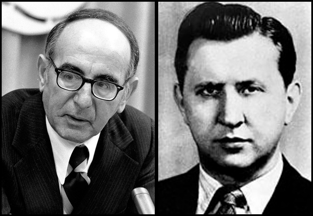 John Scali dan Alexander Feklisov.