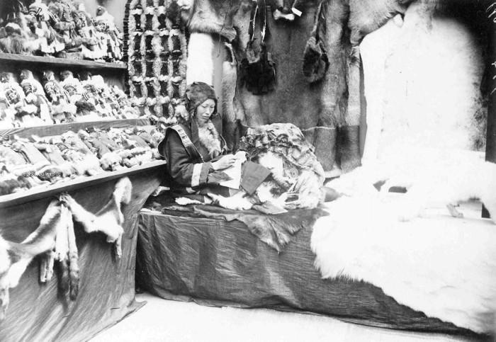 Comerciantes del norte de Rusia.