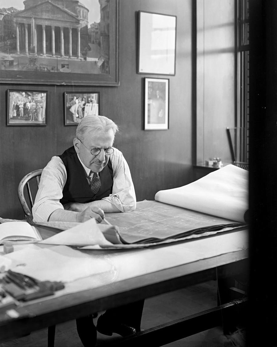 Arhitekt Albert Kahn.