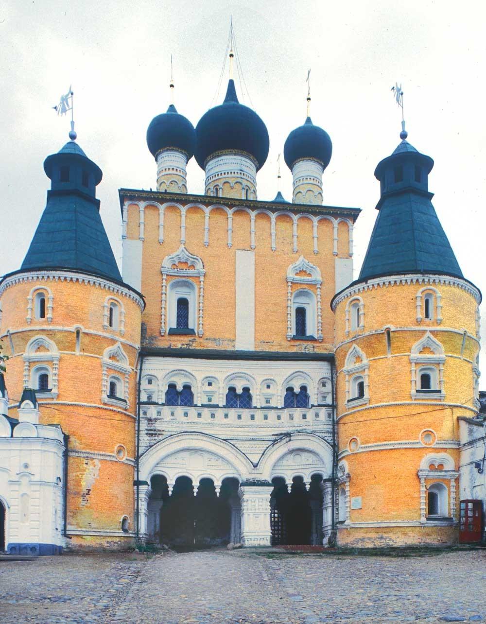 Severni pogled na Cerkev device Marije pri severnih vratih, 4. oktober 1992